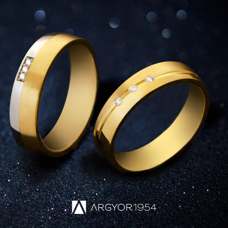 Alianzas personalizadas ARGYOR1954: diseña tu alianza perfecta eligiendo forma, acabado, anchura, engastes de diamante...
