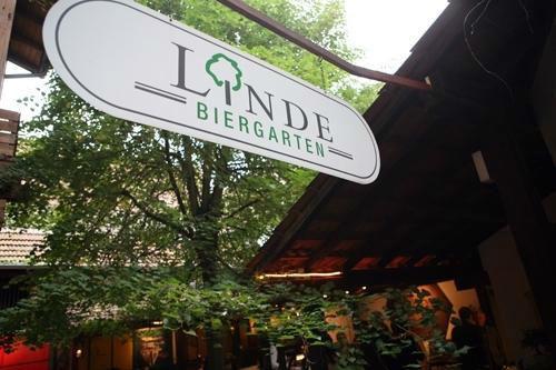 Beispiel: Eingang, Foto: Linde Restaurant.