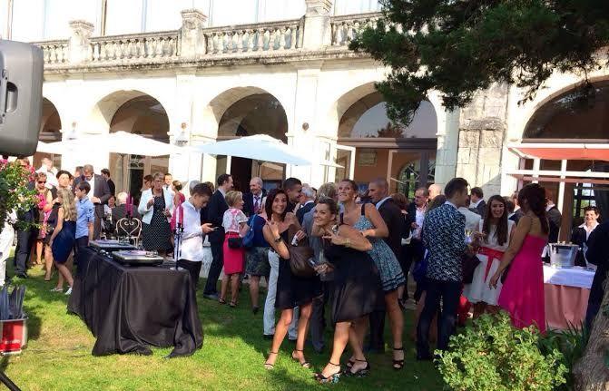 Prestige Mix en mode cocktail de mariage à l'Abbaye de Villeneuve (44)