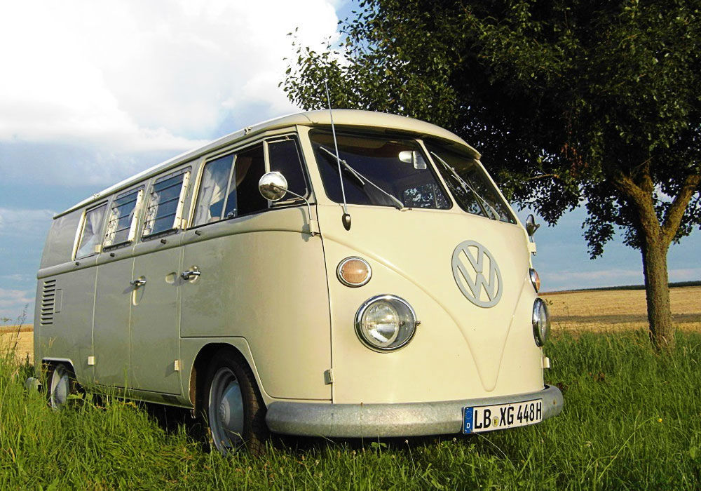 Beispiel: VW T1 Bus, Foto: Rent My Classic Car.