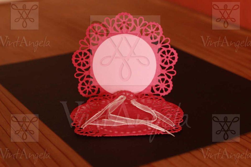 Vintangela: Invitaciones de bodas te presenta este modelo polvera de amor, ubicados en Cuernavaca pero envian a todo el país.