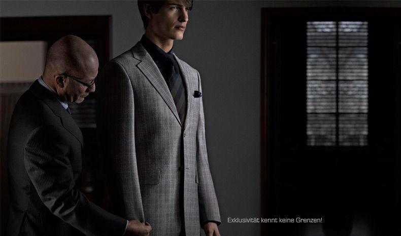 Beispiel: Herrenmode, Foto: Calkap - Atelier für Maßkonfektion.