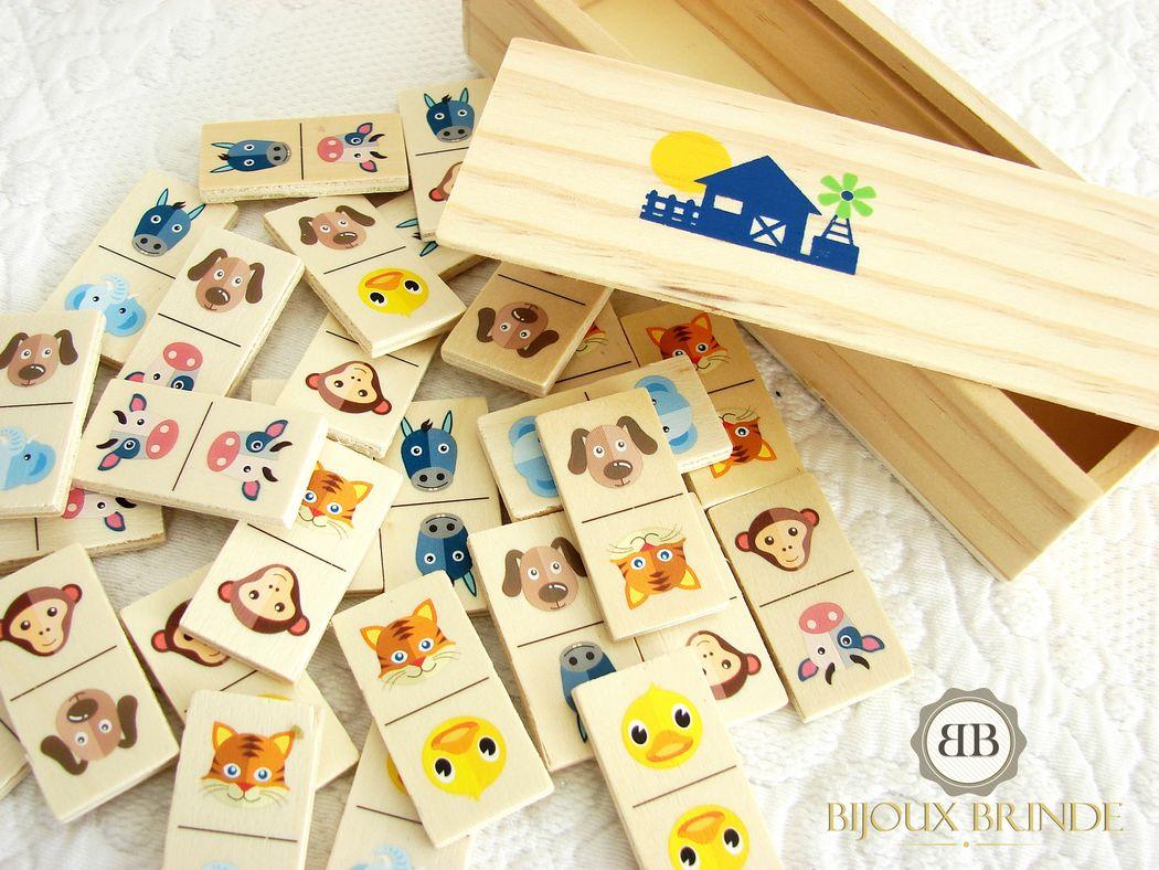 Jogo de dominó para criança