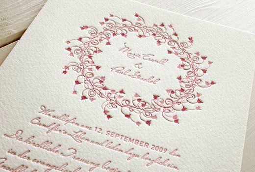 Beispiel: Ihre individuellen Hochzeitskarten - Set Midsommer, Foto: Honeybird.
