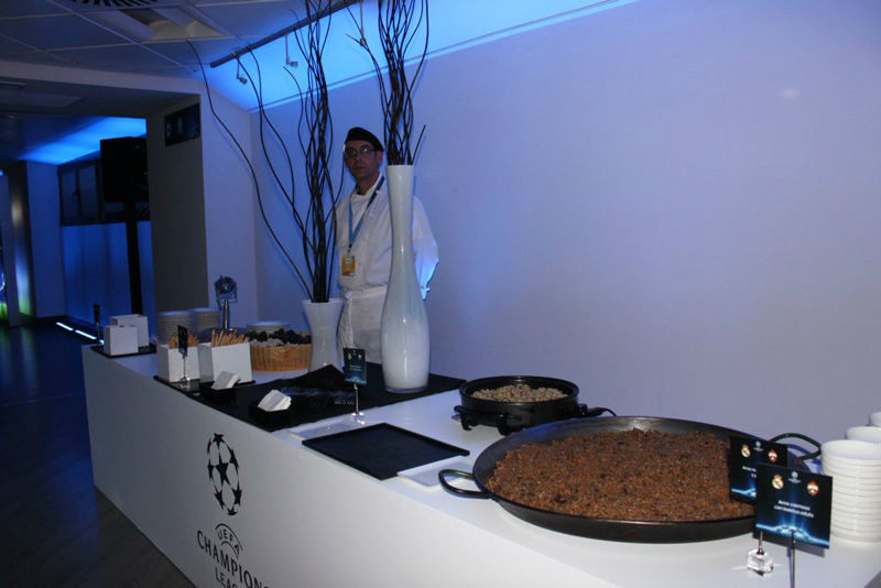 Catering Villa Real