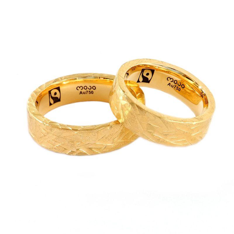 Eheringe in 750 Fairtrade Gelbgold