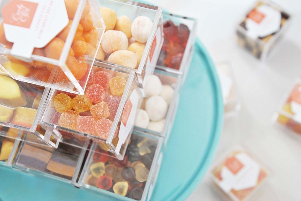 Candy Chéri, gâteau de cubes