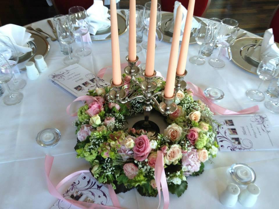 Beispiel: Zauberhafte Tischdekorationen, Foto: Die Hochzeitsfeen.