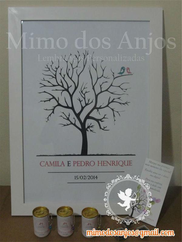 Arvore de digitais Mimo dos Anjos.