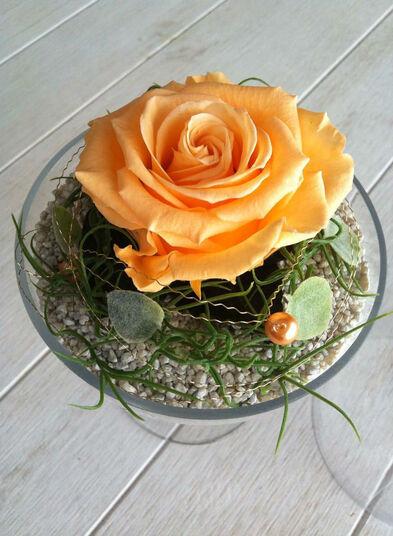 Beispiel: Tischdekoration, Foto: Brautstrauss24.ch.