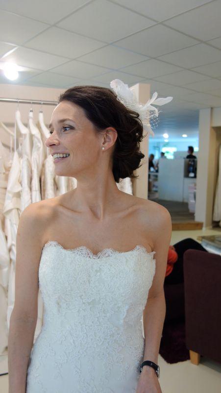 Op de trouwdag zelf straalt de bruid van schoonheid en zelfvertrouwen.