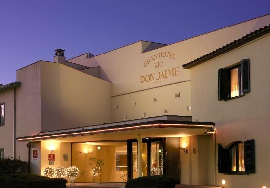 Fachada Gran Hotel Rey Don Jaime