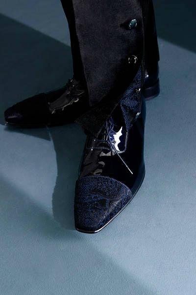 Beispiel: Einzigartige Schuhe, Foto: Teller Herren- & Hochzeitsmode.
