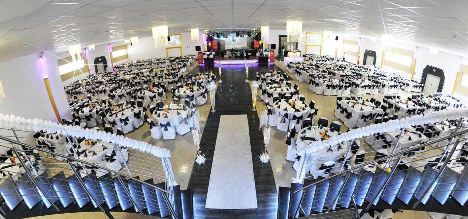 Beispiel: Saal 1 - Gesamtansicht, Foto: Elite Event Center.