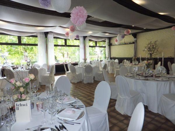 Beispiel: Dekoration für Ihre Hochzeit, Foto: Landhaus Klosterwald.