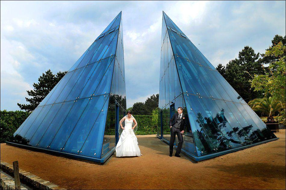 Hochzeitsfotos im Botanischen Garten Hamburg!
