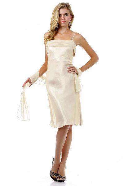 Beispiel: Kurze Brautkleider, Foto: Nachtigall & Lerche.