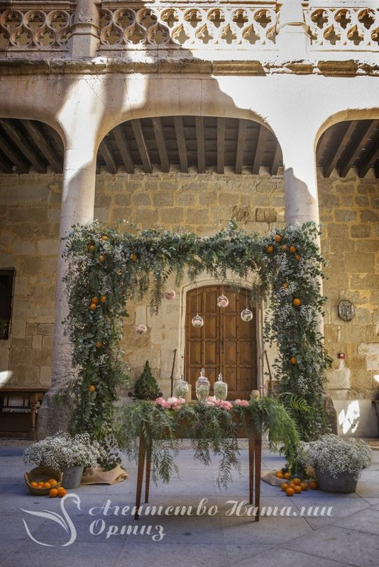 Boda de Igor y Ludmila en castillo Buen Amor. Wedding planner Natalia Ortiz Photo: Patricia Knabe