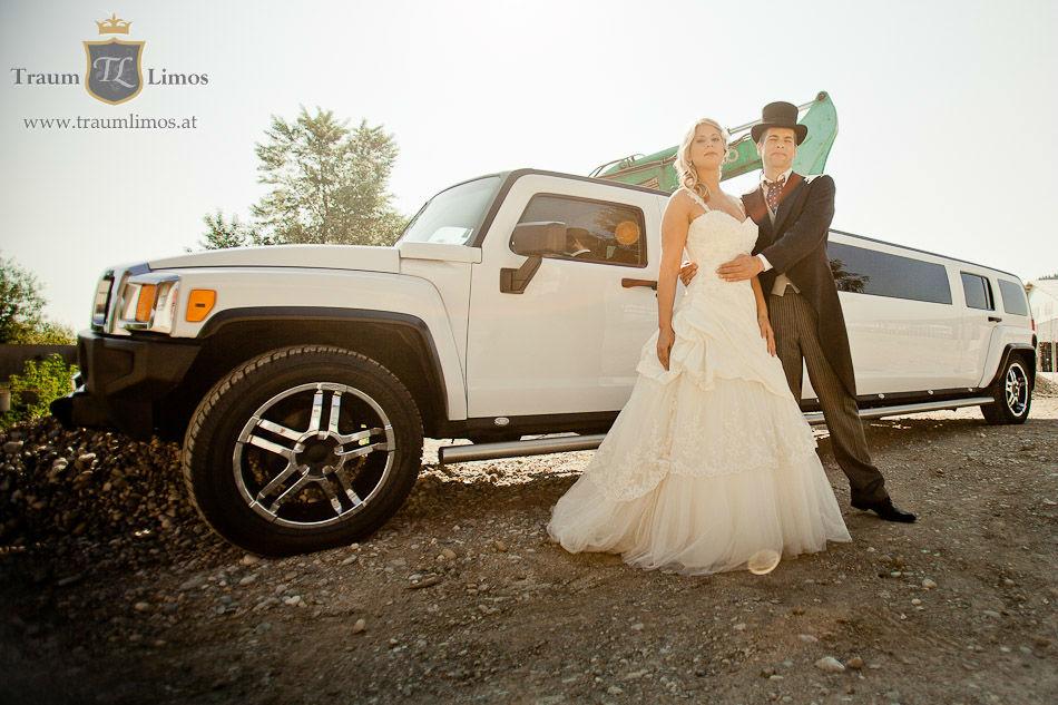 Beispiel: Einzigartige Hochzeitsautos, Foto: Traumlimos.