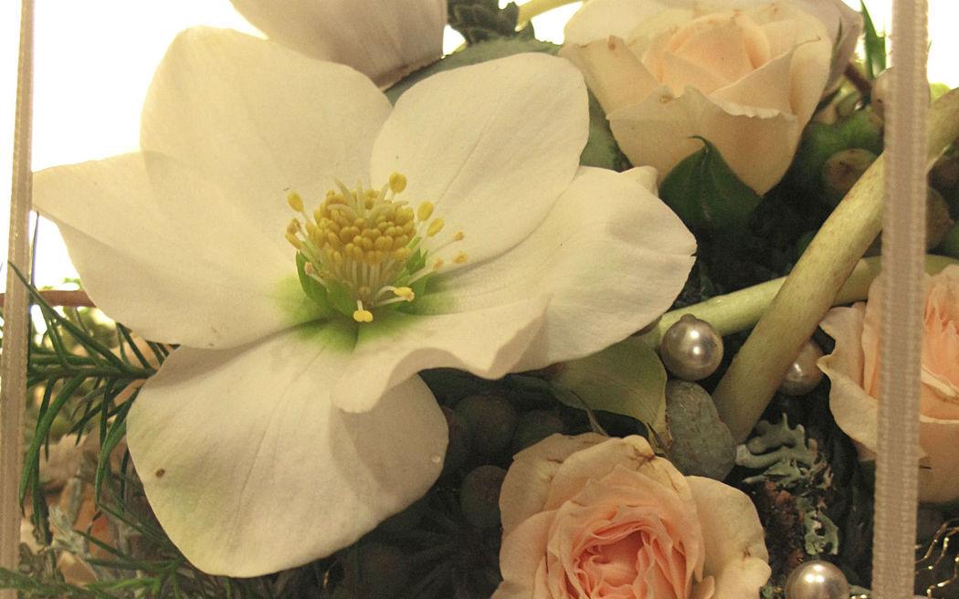 Beispiel: Wunderschöne Hochzeitsfloristik, Foto: Florales und Gestaltung.