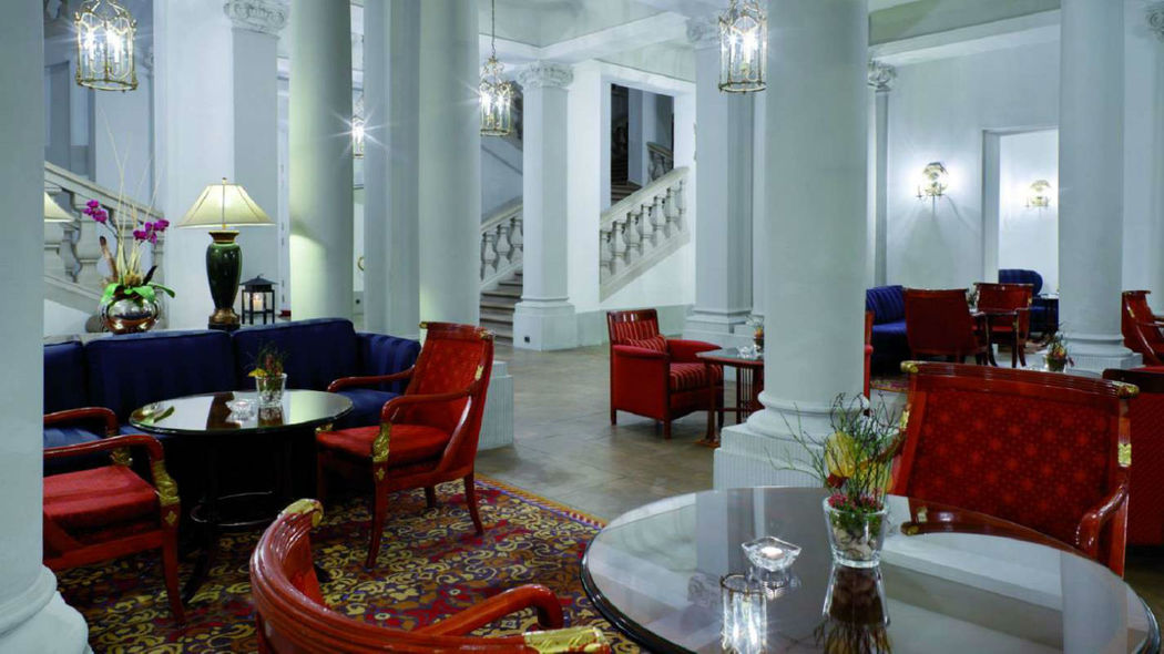 Beispiel: Lobby, Foto: Hotel Taschenbergpalais Kempinski.
