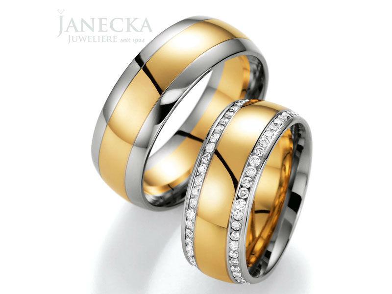 Beispiel: Große Auswahl, Foto: Juweliere Janecka.