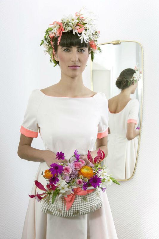 Beispiel: Hochzeitsfloristik, Foto: Blumenbar.