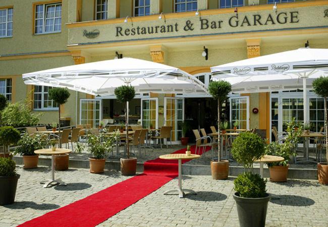 Beispiel: Eingang, Foto: Hotel Alte Feuerwache.