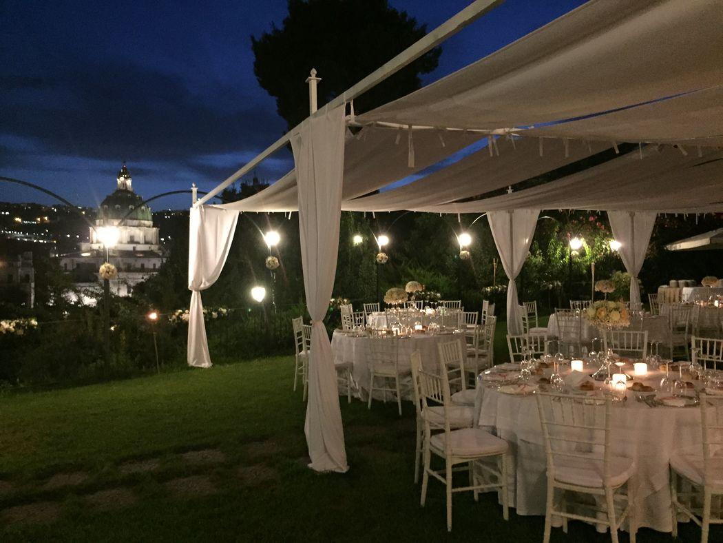 cena secondo giardino
