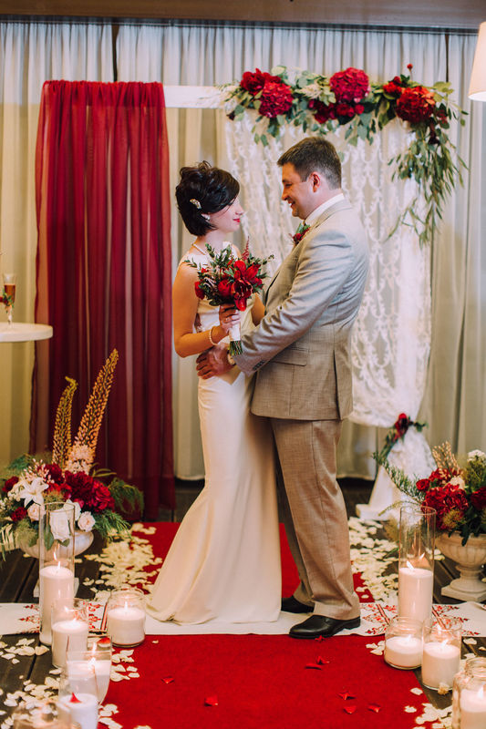 Свадьба Marsala