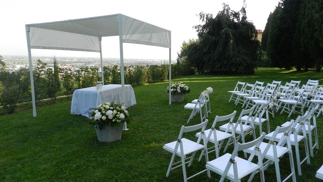 cerimonia all' aperto