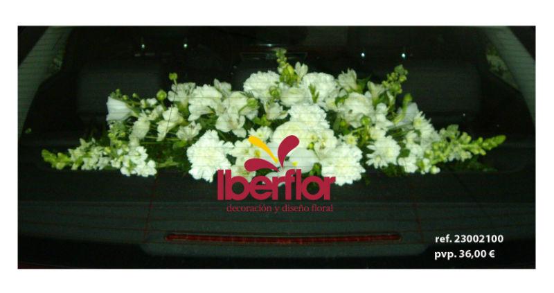 Flores vehículo