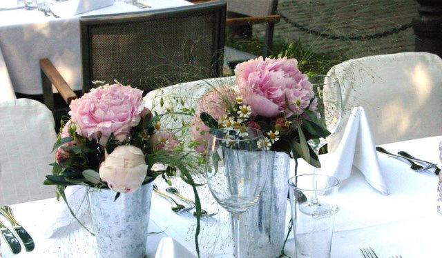 Beispiel: Hochzeitsdekoration, Foto: Altes Zollhaus.