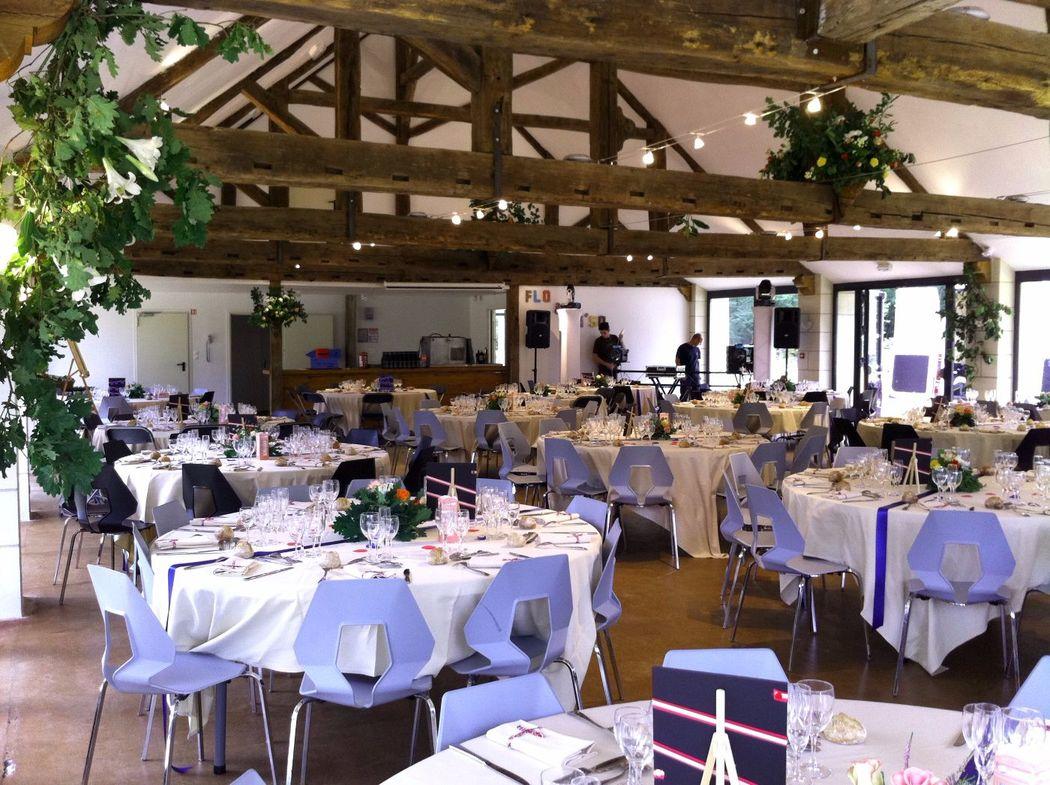 Salle de reception La Galerie - décoration de mariage