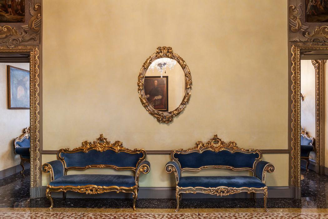 Dettaglio Sala Hall - Palazzo Visconti Milano