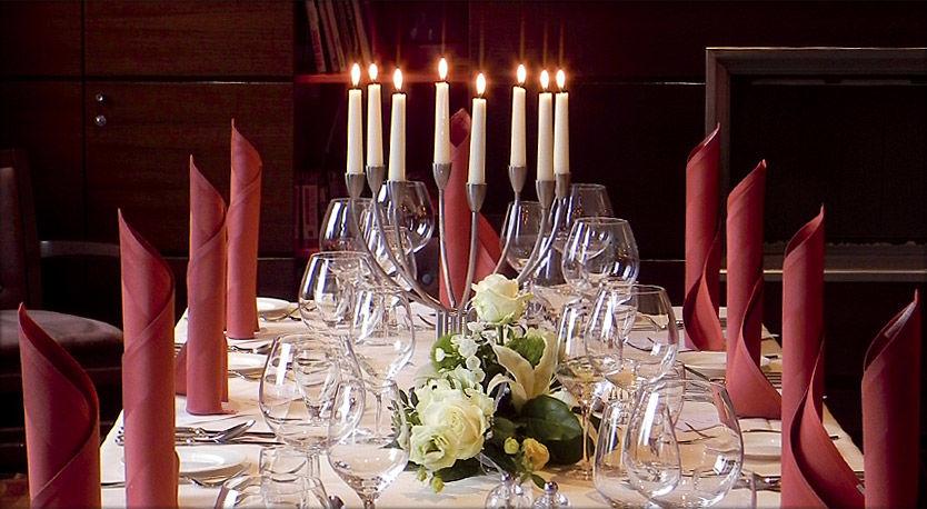 Beispiel: Hochzeitstafel, Foto: Das Ahlbeck.