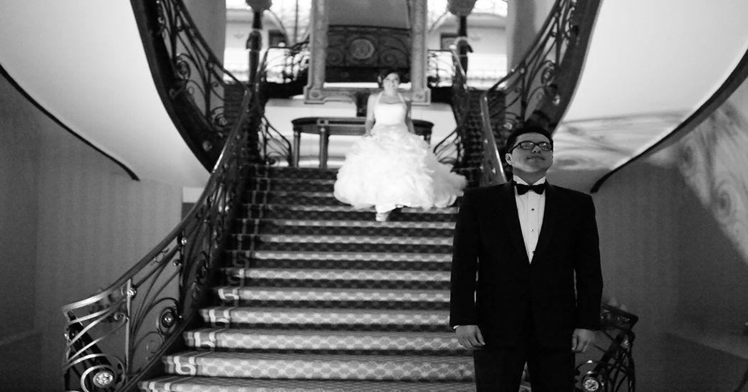 Ale&Pedro Coordinación: Elsa Bohorquez Wedding & Event Planners Lugar: Hotel Ciudad de México Foto: Ana Hinojosa