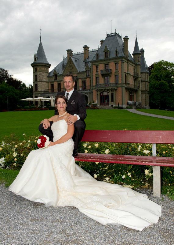 Beispiel: Eine Hochzeit im Schloss, Foto: Schloss Schadau Thun.