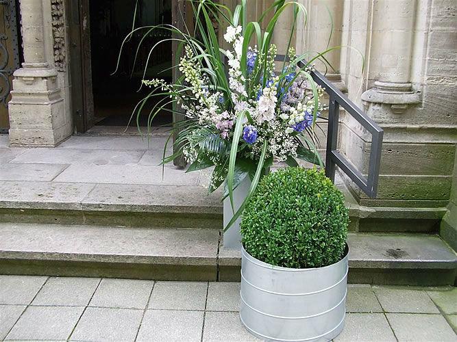Beispiel: Florale Raumgestaltung, Foto: Gärtnerei Zobel.