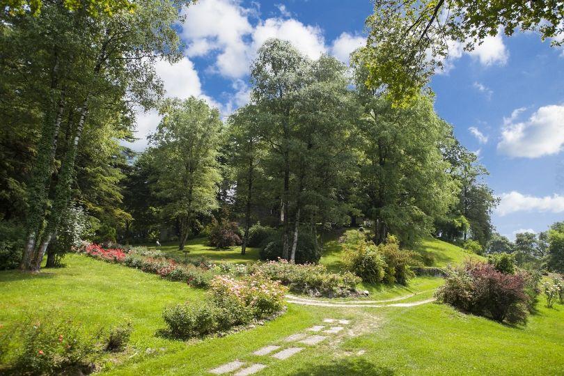 Castel Ivano, il parco per cerimonie e aperitivi