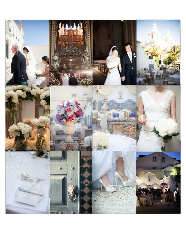 Lisbon Palace & Garden Wedding by The Wedding Company