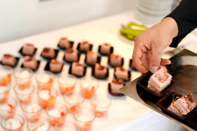 Beispiel: Fingerfood, Foto: Hotel VIVA CREATIVO.