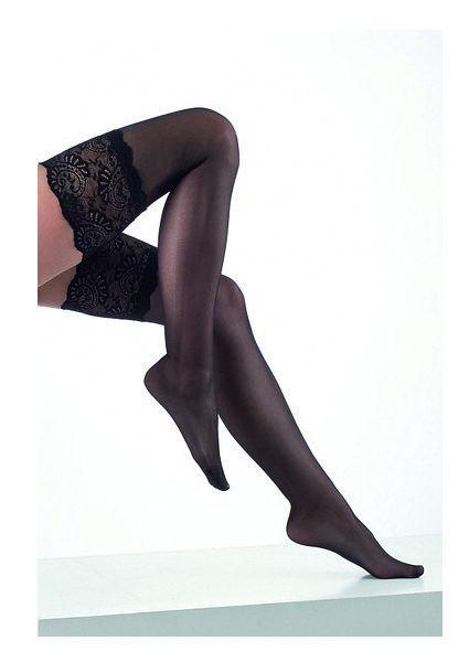 Beispiel: Strümpfe in Schwarz, Foto: Aphrodite Dessous.