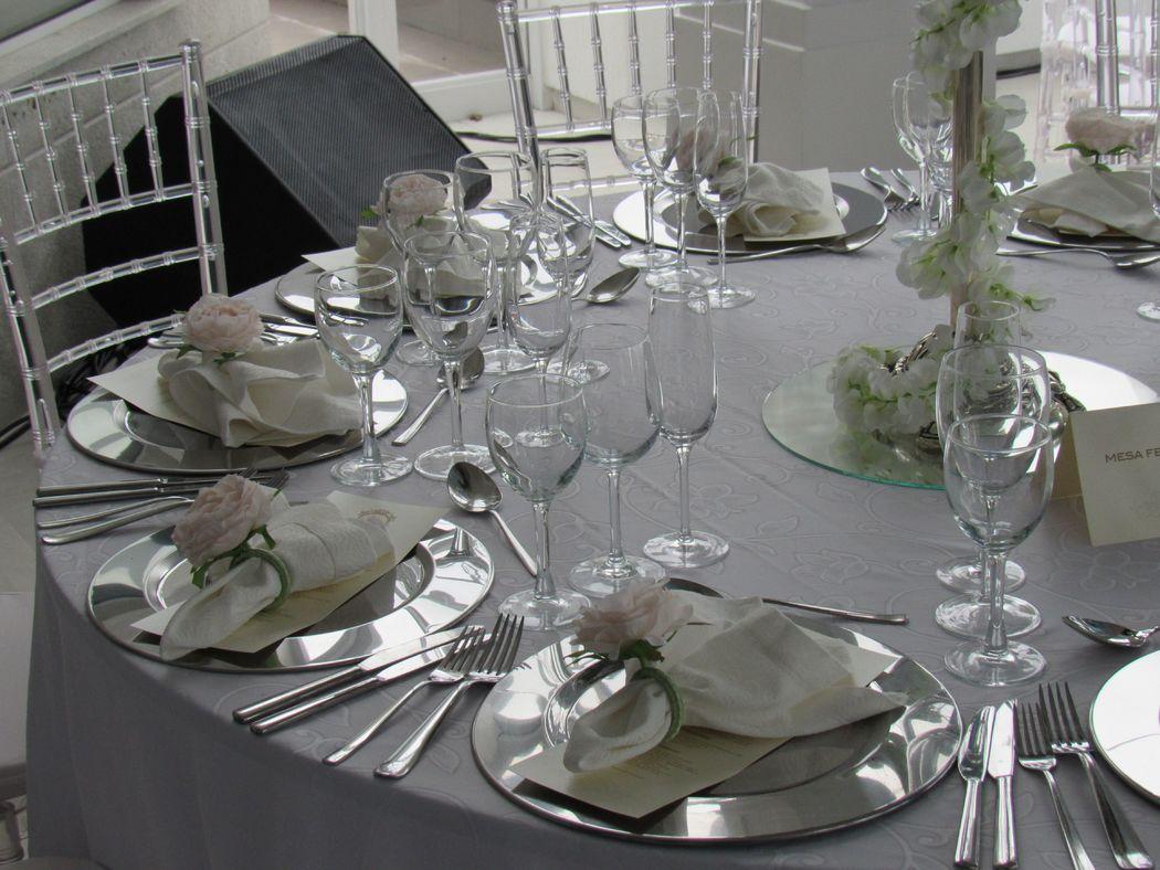 decoraçao da mesa