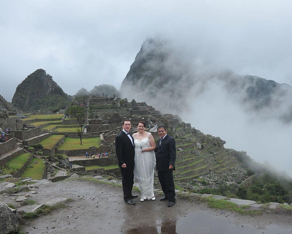 Boda Andina en Machu Picchu