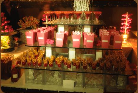 Mesa de postres. Caty Gomez, Wedding Planner en Riviera Maya