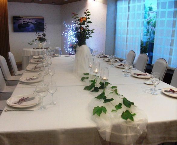 Hotel Isla Bella & Spa: Decoración de las mesas personalizada