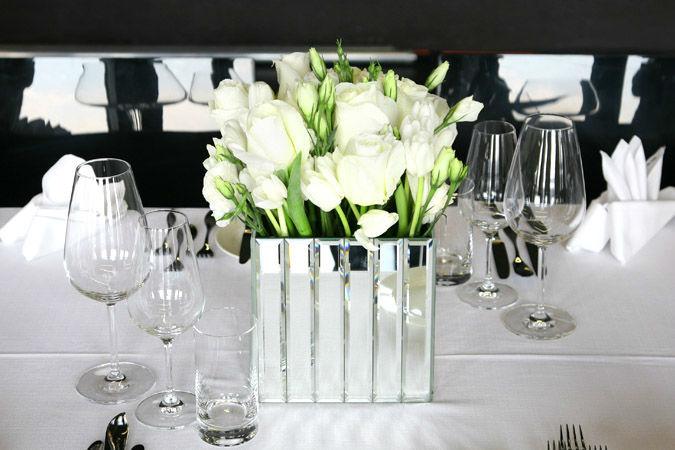 Beispiel: Tischschmuck, Foto: Marsano Blumen.