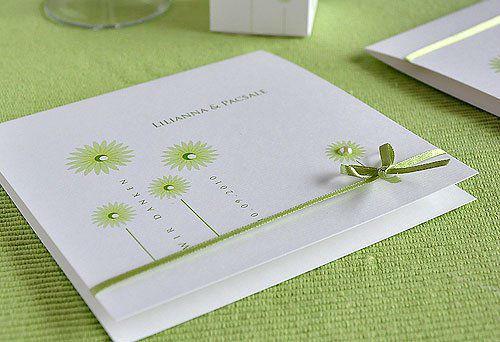 Beispiel: Danksagungskarten, Foto: BBFT-Atelier Manufaktur.