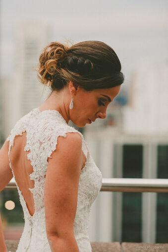 Noiva: Paula Beleza: Dia da Noiva Exclusivo por Ro Deladore Foto: Mario Lima